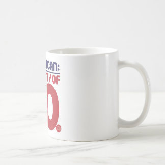 Republicano: ¡Parte de NO! Taza De Café