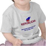 Republicano porque… camiseta