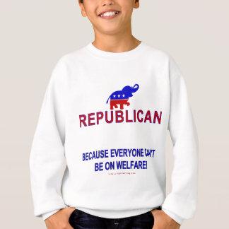 Republicano porque… sudadera