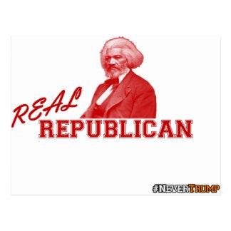 Republicano real, Frederick Douglass, nunca Tarjetas Postales