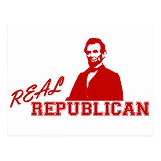 Republicano real, Lincoln Postales