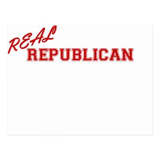 Republicano real tarjeta postal