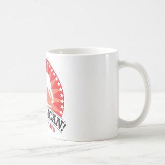 ¡Republicano! ¡Rojo del voto! Taza De Café