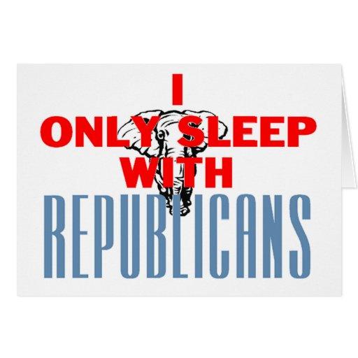 Republicanos del sueño tarjeta