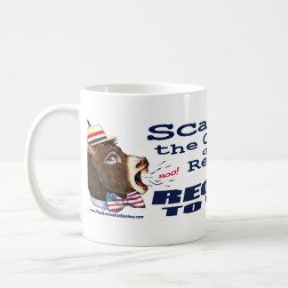 Republicanos del susto, registro para votar la taz taza de café