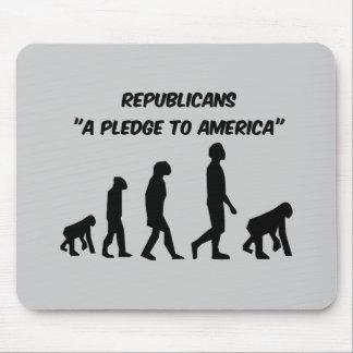 Republicanos divertidos tapetes de ratón