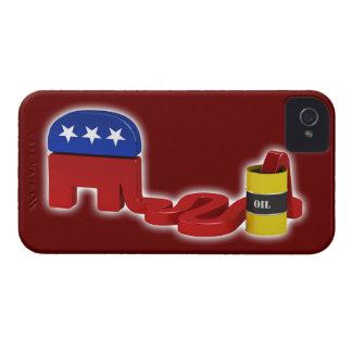 Republicanos hambrientos del aceite - caso del Case-Mate iPhone 4 cobertura