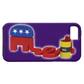 Republicanos hambrientos del aceite - caso del iPhone 5 fundas
