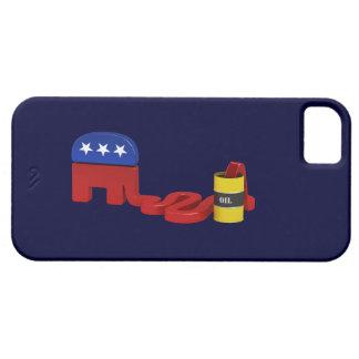 Republicanos hambrientos del aceite - caso del funda para iPhone 5 barely there