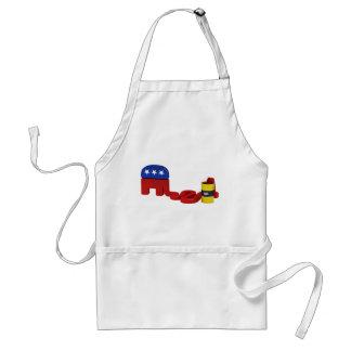 Republicanos hambrientos del aceite delantales