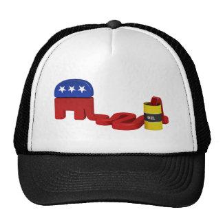 Republicanos hambrientos del aceite gorra
