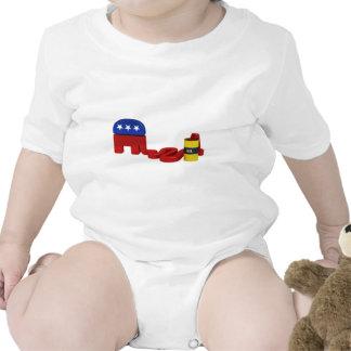 Republicanos hambrientos del aceite camisetas