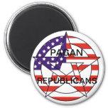 Republicanos paganos imanes de nevera