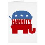 Republicanos para Hannity Tarjetón