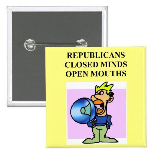 republicanos sin seso pins