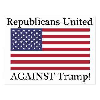 Republicanos unidos contra el triunfo tarjetas postales