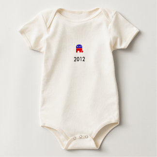 republicans 2012 baby bodysuit
