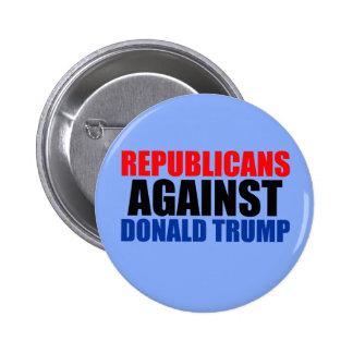 Republicans Against Donald Trump Button