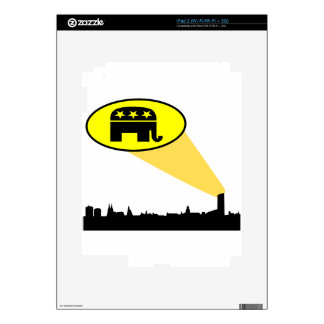 Republicans and Trump your country needs you Decal For iPad 2