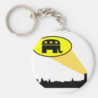 Republicans and Trump your country needs you Keychain