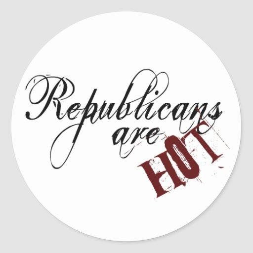 Republicans are Hot Stickers