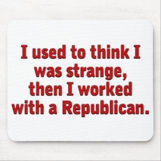 Republicans are strange mouse pad