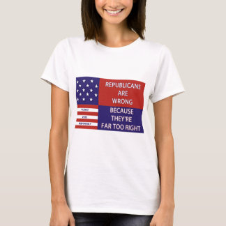 REPUBLICANS ARE WRONG APPERAL T-Shirt