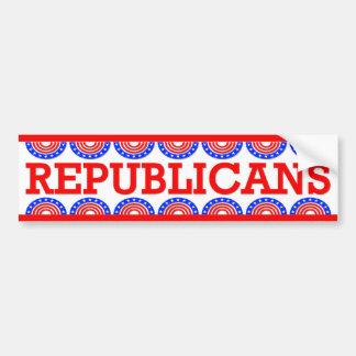 Republicans Bumper Sticker