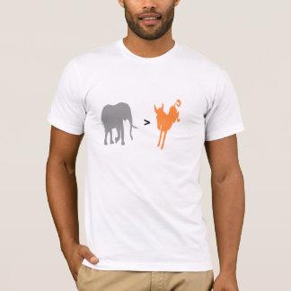 REPUBLICANS > DEMOCRATS T-Shirt