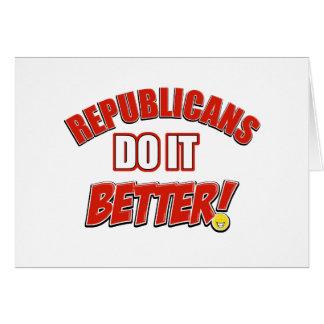 Republicans do it better card