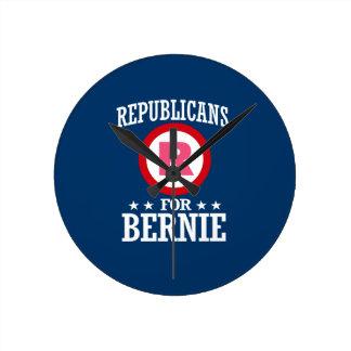 REPUBLICANS FOR BERNIE SANDERS ROUND CLOCK