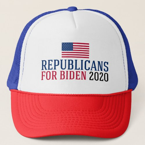 Republicans for Biden 2020 Trucker Hat