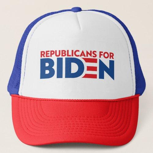 Republicans For Biden Trucker Cap