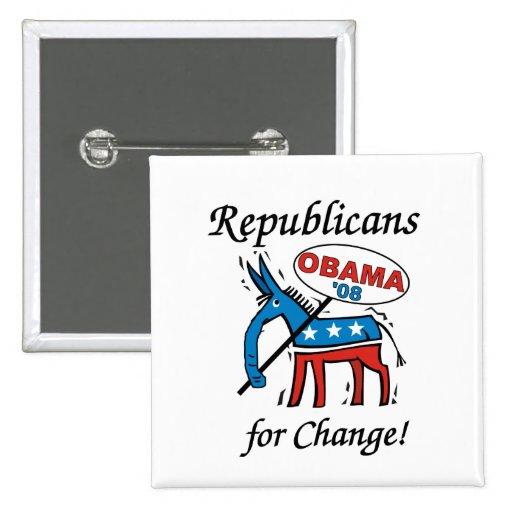 Republicans For Change Button