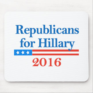 Republicans for Hillary Clinton in 2016 Mouse Pad