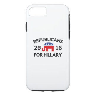 Republicans For Hillary iPhone 8/7 Case