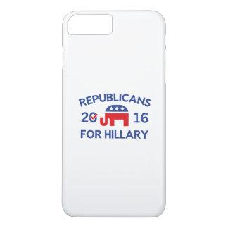 Republicans For Hillary iPhone 8 Plus/7 Plus Case