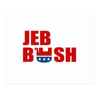REPUBLICANS FOR JEB BUSH POSTCARD