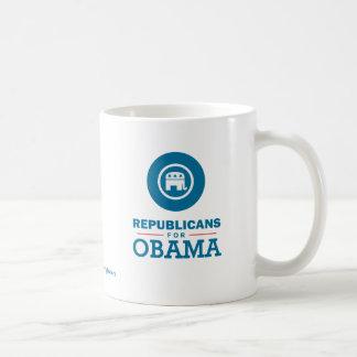 Republicans for Obama Coffee Mug