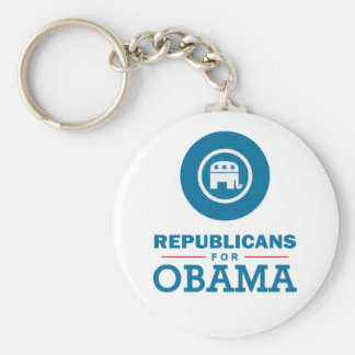 Republicans for Obama Key Chains