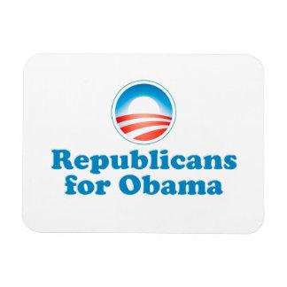 Republicans for Obama Magnet
