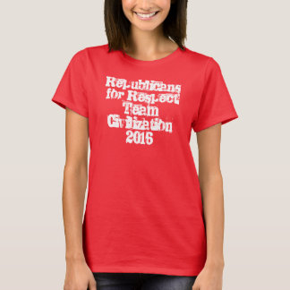 Republicans For Respect Team Civilization 2016 tee