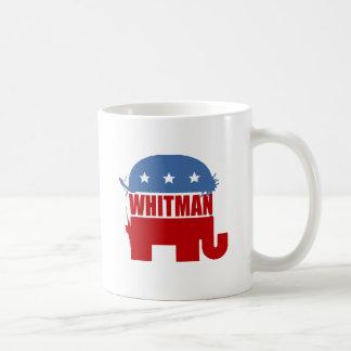 Republicans for Whitman Coffee Mugs