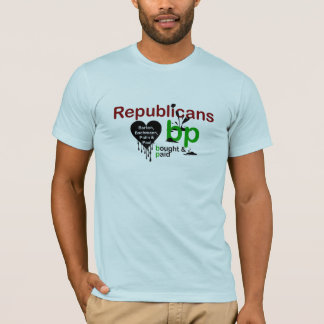Republicans Heart Oil T-Shirt