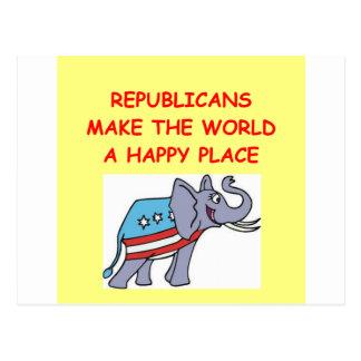 republicans postcard