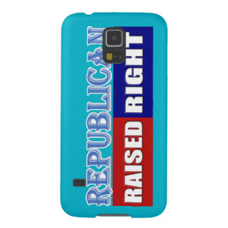 REPUBLICANS - RAISED RIGHT GALAXY S5 CASE