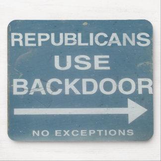 Republicans Use Backdoor Mousepad