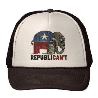 RepubliCAN'T Anti_GOP Mesh Hats