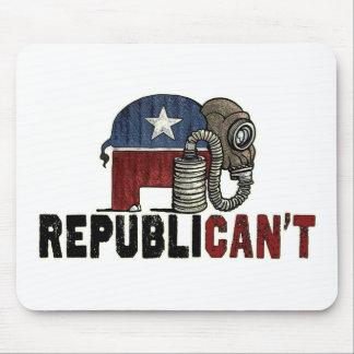RepubliCAN'T Anti_GOP Mouse Pad