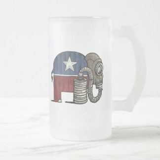 RepubliCAN'T Anti_GOP 16 Oz Frosted Glass Beer Mug